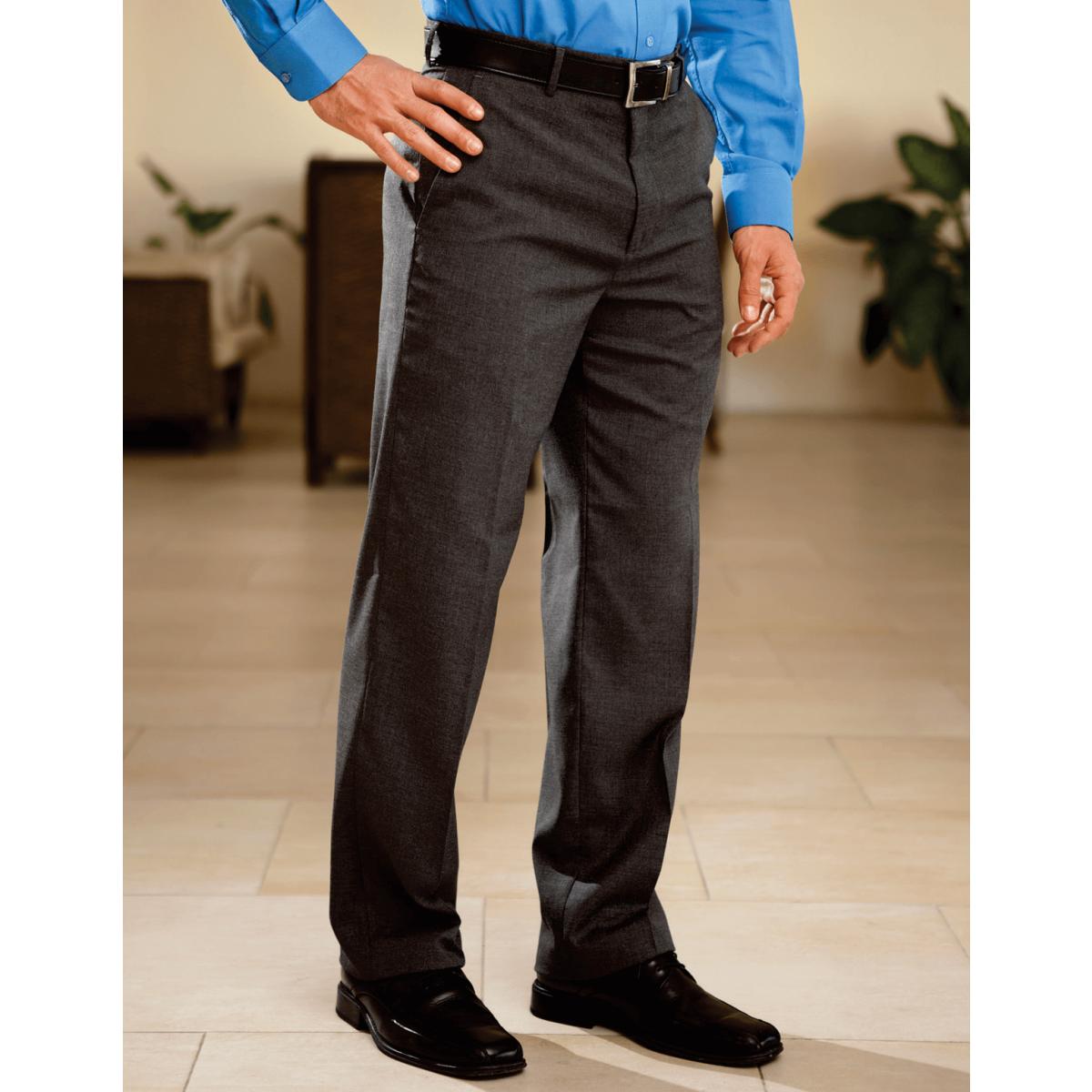 Pantalon Unitam De Vestir Oro Caballero