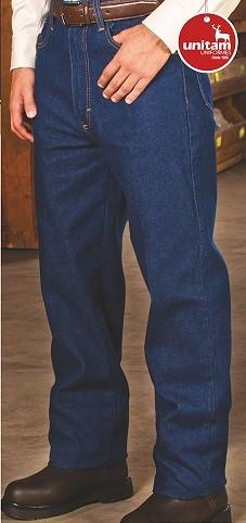 Pantalon Unitam Industrial Mezclilla