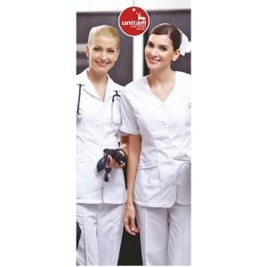 Bata Unitam corta de Enfermera