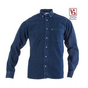 Camisa BIBO Modelo Mezclilla Clásica Manga Larga