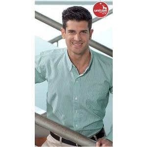 Camisa Unitam Casual Gabardina Rayas