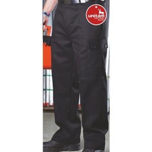 Pantalon Unitam Recto con Bolsas Laterales