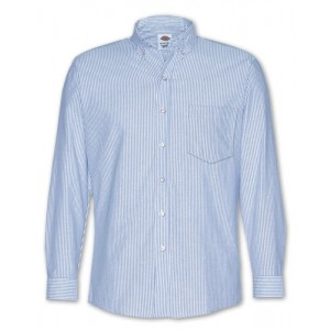 Camisa Dickies Oxford con Boton en Cuello M Larga BS y FB SS36