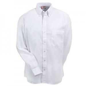 Camisa Dickies Oxford con Boton en Cuello M Larga SS36WH