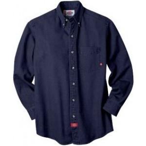 Camisa Dickies de Trabajo Mezclilla WL300